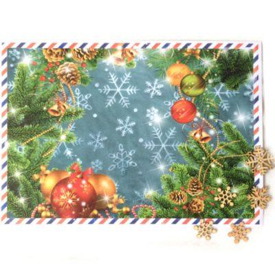 Письмо от Деда Мороза А4 в конверте
