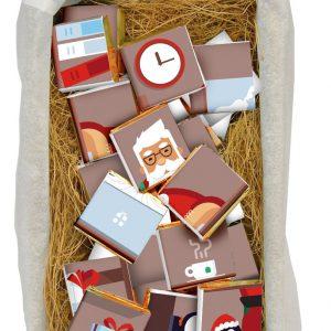 Подарок ребенку письмо от Деда Мороза с шоколадом,подарок под Новый год шоколадное письмо