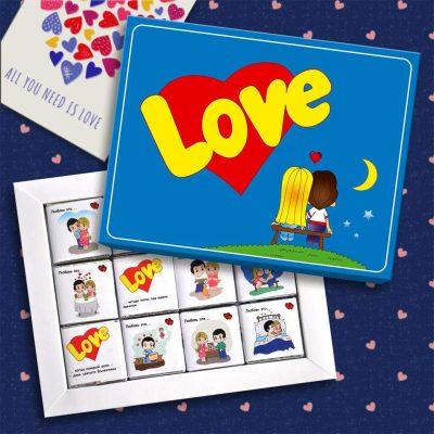 Подарунок недорогий на День закоханих 14 лютого Love is ... (Київ. Україна)