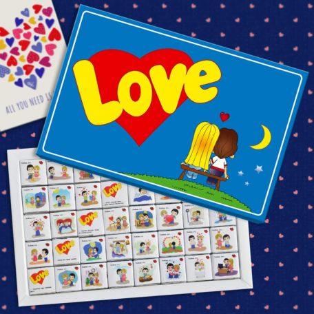 Смачний шоколад Love is...
