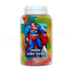 "Баночка з цукерками ""Супермену"""