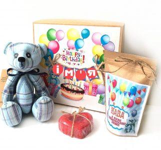 """Подарок для девочки или дочки на День рождения с мишкой и кофе. <a href=""""http://prostotak.com.ua/ru/shop/present/kreativnye-sladosti/kreativnyj-shokolad/nabor-shokolad-s-kofe/""""><strong>ЗАКАЗАТЬ</strong></a>"""