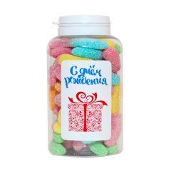 """Баночка з цукерками """"З Днем народження"""""""
