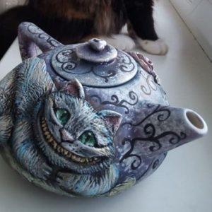 """Чайник """"Чеширский кот"""""""