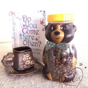 Купить баночки для хранения продуктов. Баночка мишка 750г., баночка для кофе, подарочные баночки. Баночка для кухни.