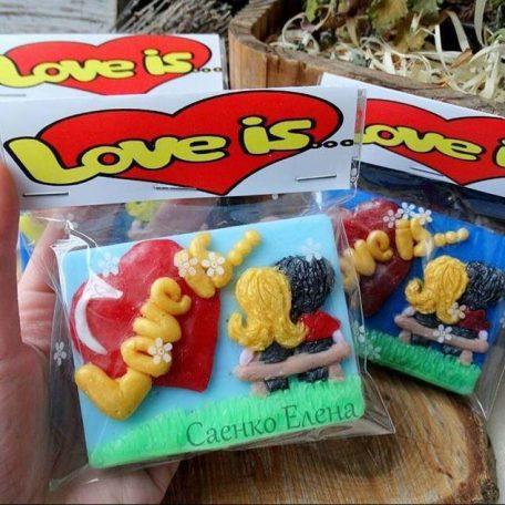 Мило ручної роботи Любов ЦЕ ... (Love is ...)   (Love is...)