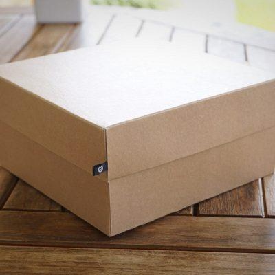 Коробка куб для подарков. Качественный плотный картон