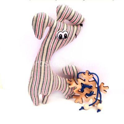 Недорогой подарок под елочку. Собачка и головоломка снежинка.