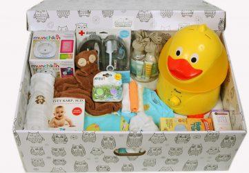 """BABY BOX PROSTO TAK "" подарки новорожденным. Доставка по Украине. Киев."