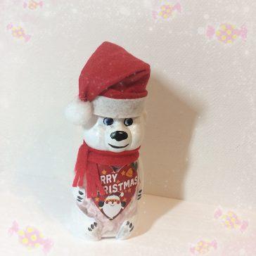 Дарунок від Діда Мороза. Цукерки в баночці ведмедик (натуральна карамелька)