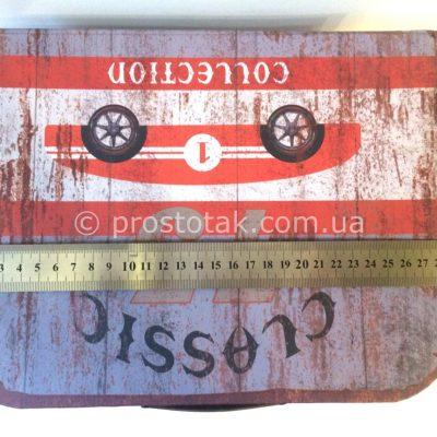 Подарочная коробка чемодан раритет авто