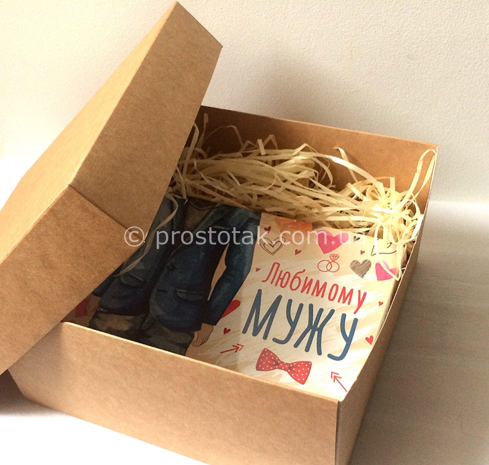 Как оформить подарок коробка в коробке 736