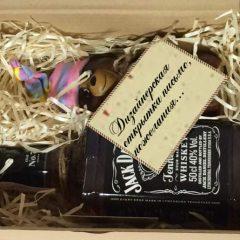 Подарок виски и шоколад, Подарунок віскі та шоколад