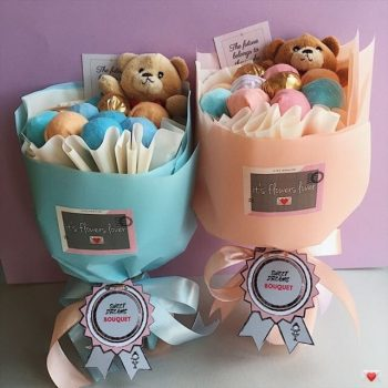 Букеты детские на День рождения для девочек
