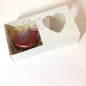 Валентинка серце із мила