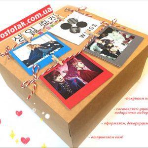 Стильне упакування для подарунка дівчині чи хлопцю
