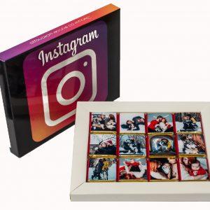 Подарок подруге девушке шоколад с фотографиями из инстаграм