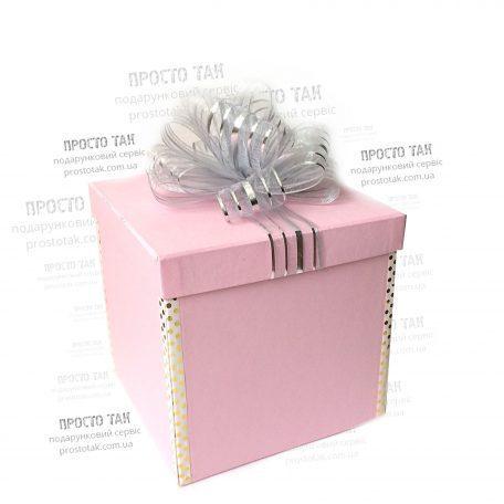 "Пример WOW BOXа для девушек и девочек. Крутой подарок на День рождения!<a href=""http://prostotak.com.ua/ru/shop/present/podarunkovi-korobki/dlya-zhenshhin/podarok-v-korobke-wow-box-rozovaya-dlya-devushki-ili-devochki/"" rel=""noopener"" target=""_blank""><strong>ЗАКАЗАТЬ</strong></a>"