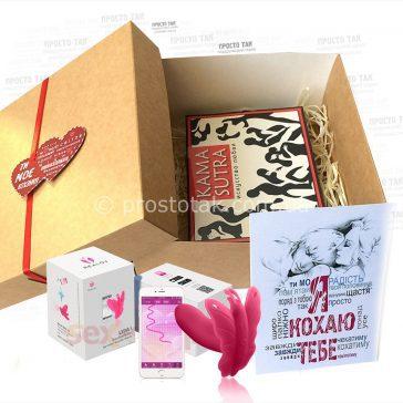 Подарочный набор с интимной игрушкой и шоколадом