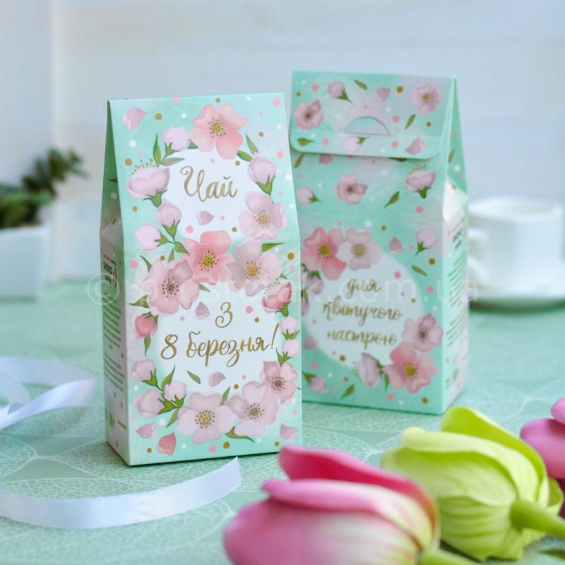Подарочный чай на 8 марта