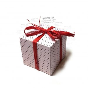 Коробка листівка на день народження