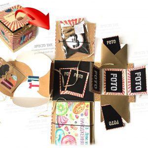 Оригінальні подарунки на День народження в коробці
