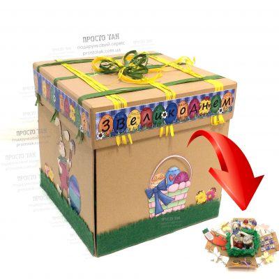 Коробка крафт для подарочного набора