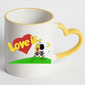 Подарок чашка LOVE is...