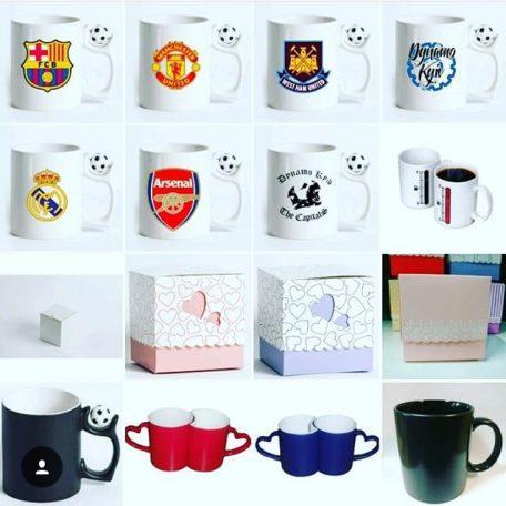 Подарок чашка с фото или надписью