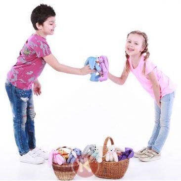 Купить подарок игрушку Зайка (hand made)
