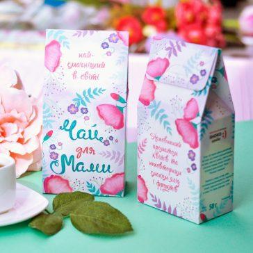 Чай для подарочного набора ЧАЙ ДЛЯ МАМИ