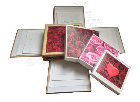 Вибухова коробка для фотографій