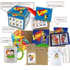 Подарочный набор Love is...