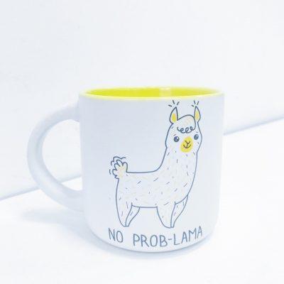 Чашка у подарунок NO PROB-LAMA