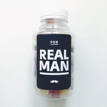 Цукерки желейні в баночці FOR REAL MAN