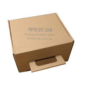 Оригинальная упаковка для подарка коробка вид ЧЕМОДАН