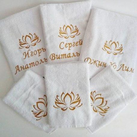 Полотенця махрові з вишивкою