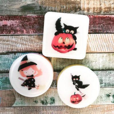 Тематические подарки из мыла на Хэллоуин