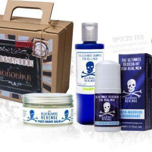Подарочный набор мужчине с косметикой Bluebeards revenge