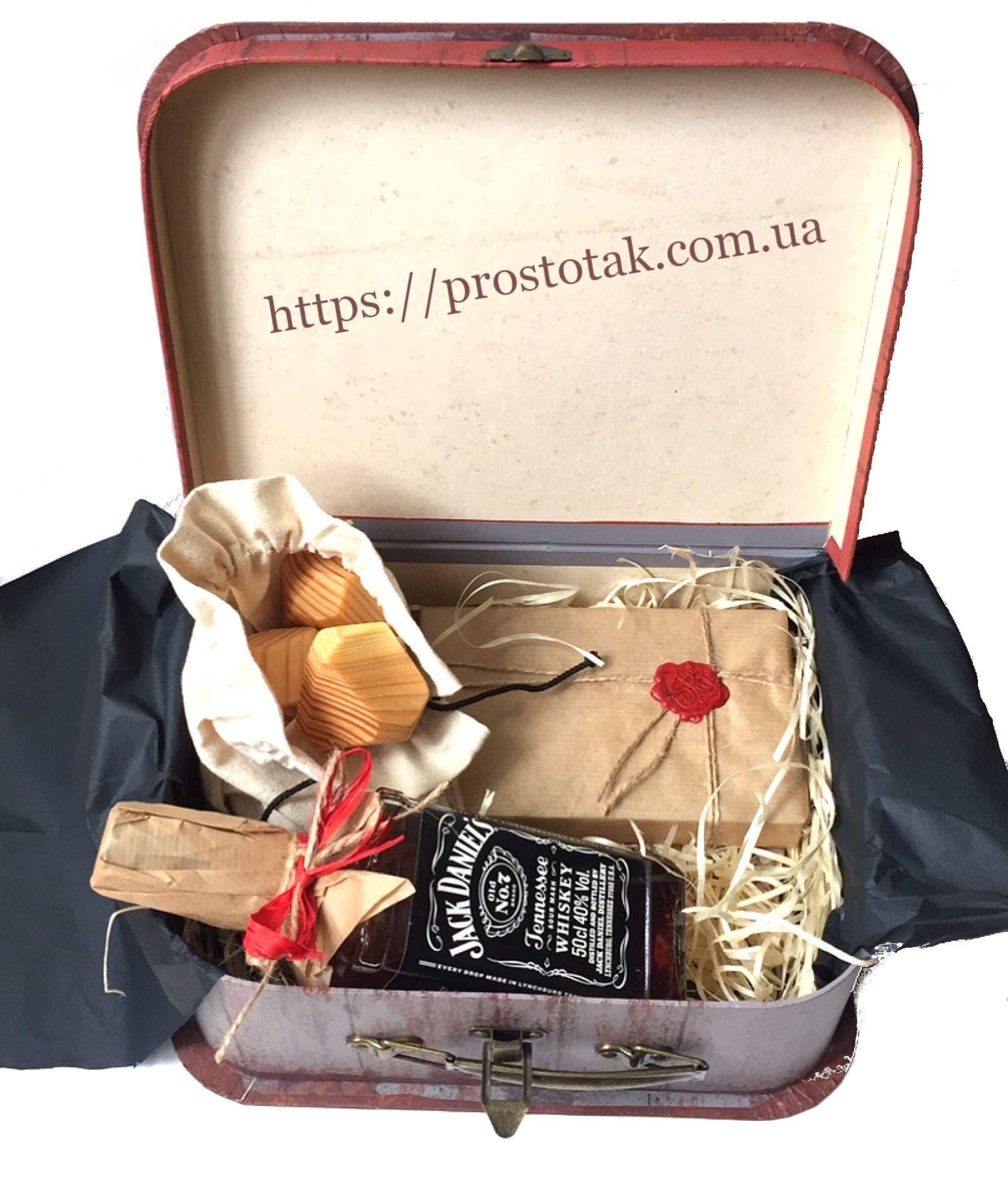 Набори в коробці валізі для чоловіків