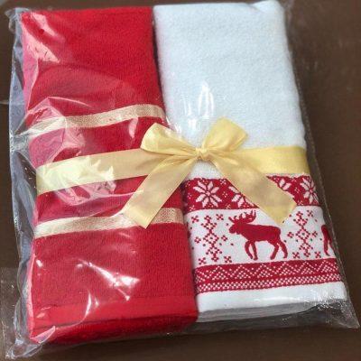 Полотенца с новогодней тематикой