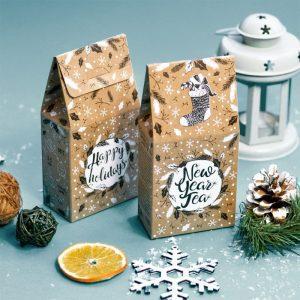 Чай для новорічного подарункового набору