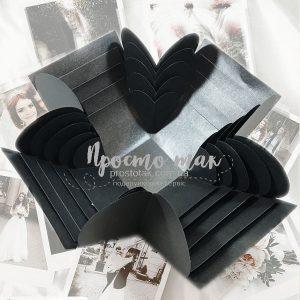 Коробка для подарка с фотографиями