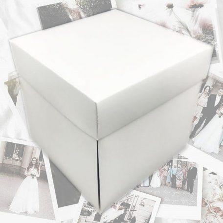 """Коробка куб для фотографій<h3><a href=""""http://prostotak.com.ua/uk/shop/podarunkovi-korobki-uk/dlya-zhinok/foto-korobka-bilij-kub-19x19x19sm-dlya-fotografij-2/"""">Замовити</a></h3>"""