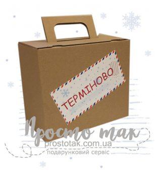 Коробка для подарка от Деда Мороза.
