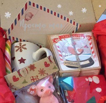 Подарок от Деда Мороза craft box