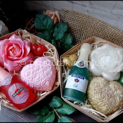 подарки из мыла