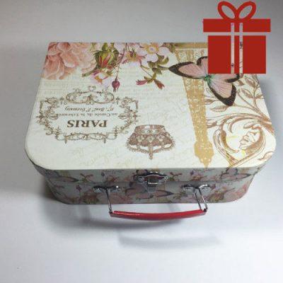 Подарочная коробка чемодан Paris