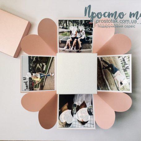 Коробка с фотографиями для девушки
