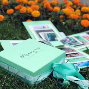 Коробка с фотографиями UKRAINE